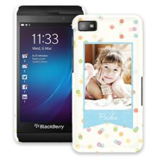 Paper Dots BlackBerry Z10 ColorStrong Slim-Pro Case