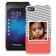 Skinny Stripes BlackBerry Z10 ColorStrong Slim-Pro Case
