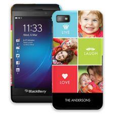 Bright Live Laugh Love BlackBerry Z10 ColorStrong Slim-Pro Case