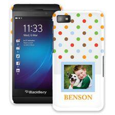 Rainbow Sprinkles BlackBerry Z10 ColorStrong Slim-Pro Case