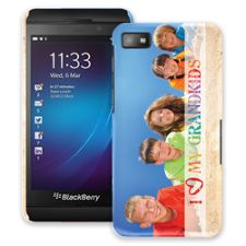 Grandkids and Crayons BlackBerry Z10 ColorStrong Slim-Pro Case