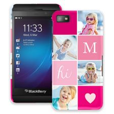 Strawberry Squares BlackBerry Z10 ColorStrong Slim-Pro Case