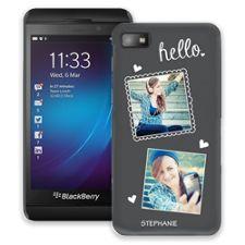 Chalk Portraits Duo BlackBerry Z10 ColorStrong Slim-Pro Case