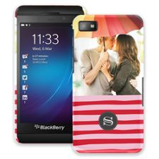 Raspberry Waves BlackBerry Z10 ColorStrong Slim-Pro Case