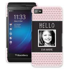 Retro Dots BlackBerry Z10 ColorStrong Slim-Pro Case