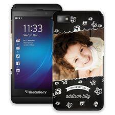 Scratch Art Flowers BlackBerry Z10 ColorStrong Slim-Pro Case