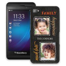 Family Portrait Duo BlackBerry Z10 ColorStrong Slim-Pro Case