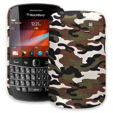 Woodland Camouflage BlackBerry 9900/9930 Bold ColorStrong Slim-Pro Case