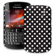 White Polka Dot on Black BlackBerry 9900/9930 Bold ColorStrong Slim-Pro Case