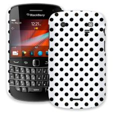 Black Polka Dot on White BlackBerry 9900/9930 Bold ColorStrong Slim-Pro Case