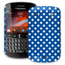 White Polka Dot on Royal Blue BlackBerry 9900/9930 Bold ColorStrong Slim-Pro Case