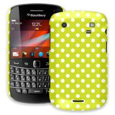 White Polka Dot on Sour Apple BlackBerry 9900/9930 Bold ColorStrong Slim-Pro Case