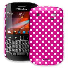 White Polka Dot on Fuchsia BlackBerry 9900/9930 Bold ColorStrong Slim-Pro Case