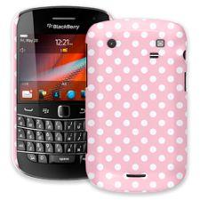 White Polka Dot on Baby Pink BlackBerry 9900/9930 Bold ColorStrong Slim-Pro Case