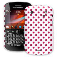 Berry Polka Dot on White BlackBerry 9900/9930 Bold ColorStrong Slim-Pro Case