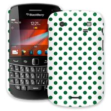 Forest Green Polka Dot on White BlackBerry 9900/9930 Bold ColorStrong Slim-Pro Case