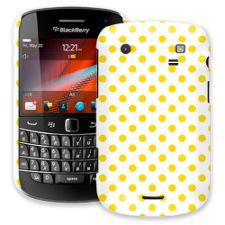 Sunshine Polka Dot on White BlackBerry 9900/9930 Bold ColorStrong Slim-Pro Case