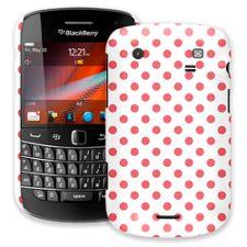 Coral Polka Dot on White BlackBerry 9900/9930 Bold ColorStrong Slim-Pro Case