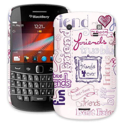 Friends Pink BlackBerry 9900/9930 Bold ColorStrong Slim-Pro Case