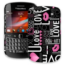 Love BlackBerry 9900/9930 Bold ColorStrong Slim-Pro Case