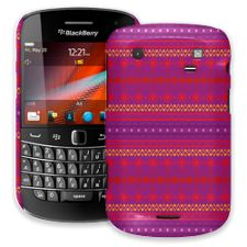 Purple Tribal BlackBerry 9900/9930 Bold ColorStrong Slim-Pro Case