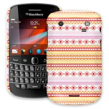Orange Tribal BlackBerry 9900/9930 Bold ColorStrong Slim-Pro Case