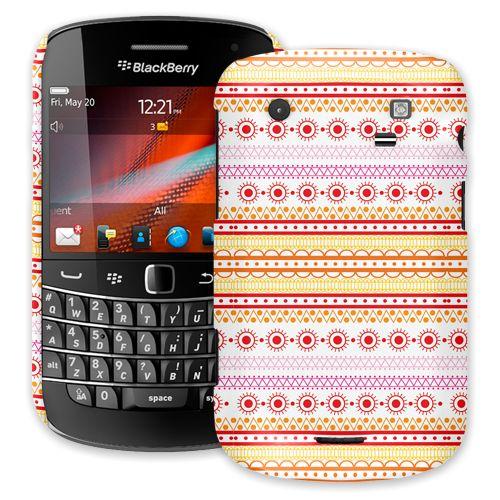 Orange Tribal BlackBerry 9900/9930 Bold ColorStrong Slim-Pro Case
