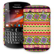 Happy Bright Tribal BlackBerry 9900/9930 Bold ColorStrong Slim-Pro Case