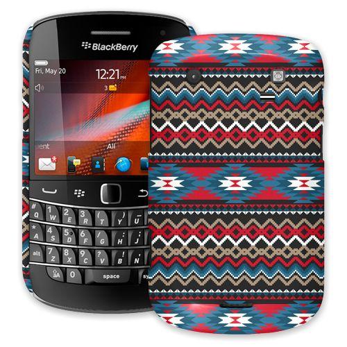 Folk Tribal BlackBerry 9900/9930 Bold ColorStrong Slim-Pro Case