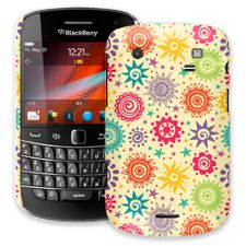 Tribal Sun Pattern BlackBerry 9900/9930 Bold ColorStrong Slim-Pro Case