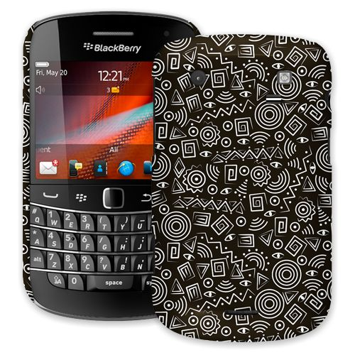 Black and White Tribal BlackBerry 9900/9930 Bold ColorStrong Slim-Pro Case