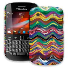 Wavy Paint Swirls BlackBerry 9900/9930 Bold ColorStrong Slim-Pro Case
