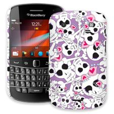 Skull Princess BlackBerry 9900/9930 Bold ColorStrong Slim-Pro Case