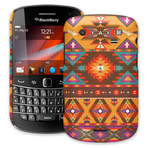 Aztec Tribal BlackBerry 9900/9930 Bold ColorStrong Slim-Pro Case