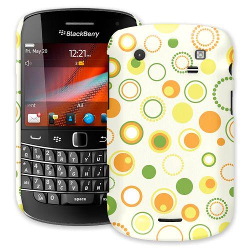 Retro Citrus BlackBerry 9900/9930 Bold ColorStrong Slim-Pro Case