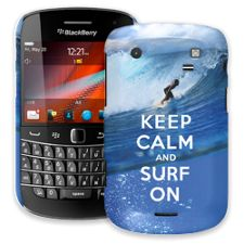 Keep Calm and Surf On BlackBerry 9900/9930 Bold ColorStrong Slim-Pro Case