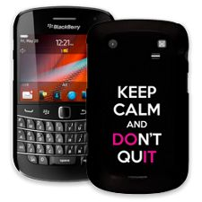 Keep Calm and Don't Quit BlackBerry 9900/9930 Bold ColorStrong Slim-Pro Case