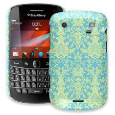Vintage Blue Green Damask BlackBerry 9900/9930 Bold ColorStrong Slim-Pro Case
