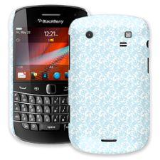 Soft Chateau Blue Damask BlackBerry 9900/9930 Bold ColorStrong Slim-Pro Case