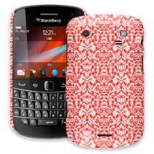 Red Damask BlackBerry 9900/9930 Bold ColorStrong Slim-Pro Case