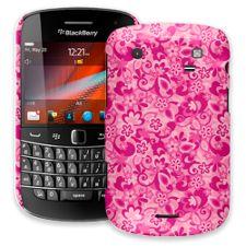 Pink Flower Power BlackBerry 9900/9930 Bold ColorStrong Slim-Pro Case