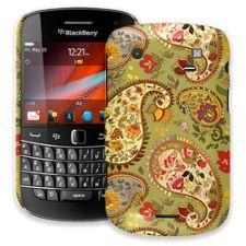 Organic Floral Sage Paisley BlackBerry 9900/9930 Bold ColorStrong Slim-Pro Case