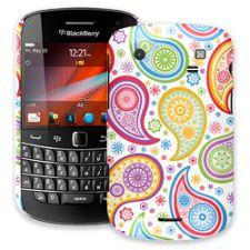 Rainbow Paisley BlackBerry 9900/9930 Bold ColorStrong Slim-Pro Case