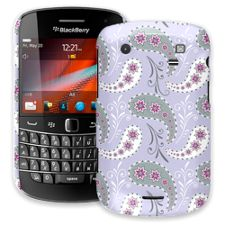 Sophisticated Lavender Paisley BlackBerry 9900/9930 Bold ColorStrong Slim-Pro Case