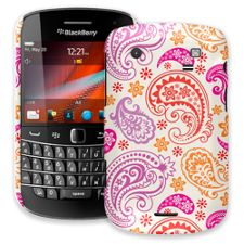 Purple and Pink Paisley BlackBerry 9900/9930 Bold ColorStrong Slim-Pro Case