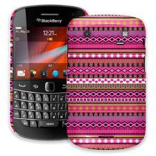 Pink Geometric Tribal BlackBerry 9900/9930 Bold ColorStrong Slim-Pro Case
