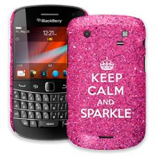 Keep Calm and Sparkle BlackBerry 9900/9930 Bold ColorStrong Slim-Pro Case