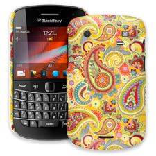 Sunshine Paisley BlackBerry 9900/9930 Bold ColorStrong Slim-Pro Case