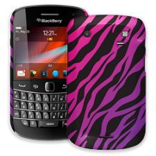 Pink and Purple Zebra BlackBerry 9900/9930 Bold ColorStrong Slim-Pro Case
