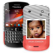 Skinny Stripes BlackBerry 9900/9930 Bold ColorStrong Slim-Pro Case